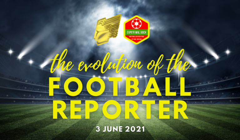 RTS Cymru Wales presents The Evolution of the Football Reporter, a special virtual event on June 3rd, 2021