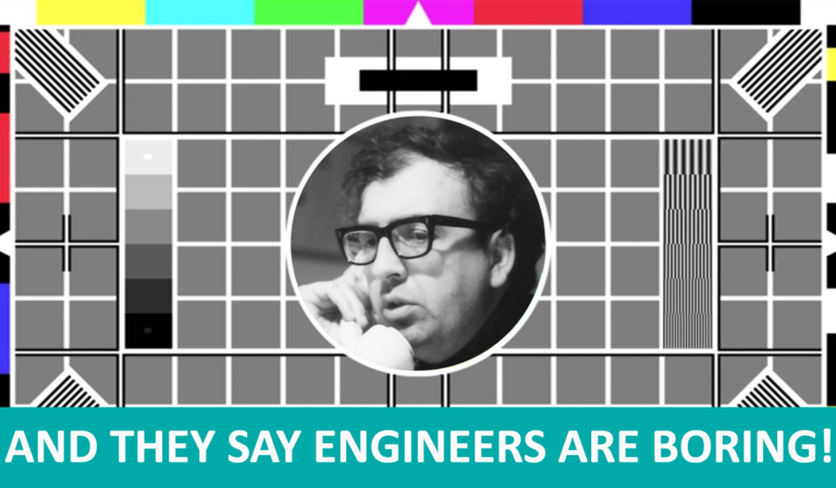 BBC test card with Norman Green
