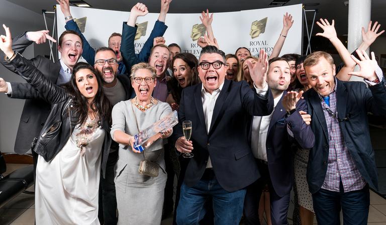 STV's Live at Five team, winners of Daytime Award 2019