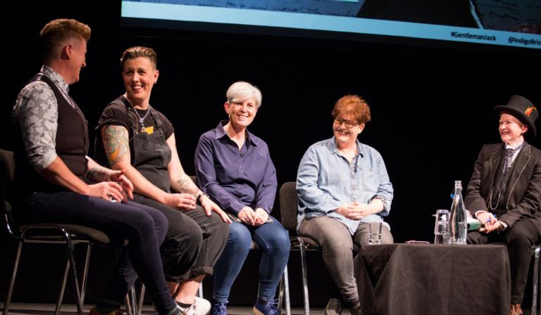 O'Hooley & Tidow , AnneChoma, Sally Wainwright and Dr Finn Mackay (Credit: Dee Robertson)