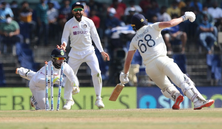 India vs England second Test, 2021 (Credit: BCCI/Pankaj Nangia)