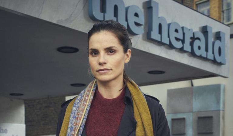 Charlotte Riley stars in Press (Credit: BBC)