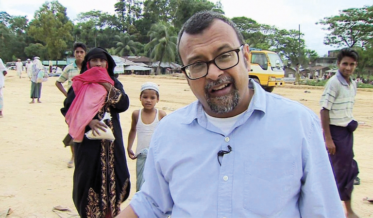 Sanjoy Majumder (Credit: BBC)