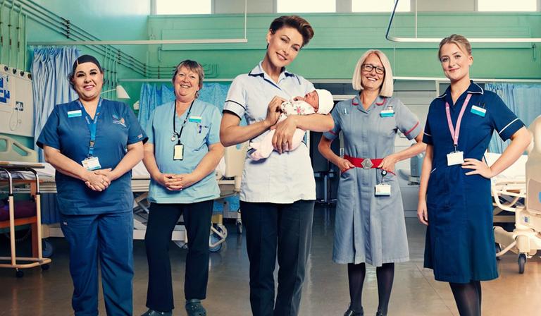 W show Emma Willis: Delivering Babies (Credit: UKTV)
