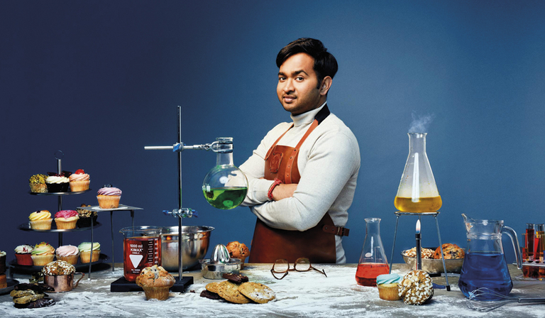 The Great British Bake Off 2018 winner Rahul Mandal (Credit: Channel 4)