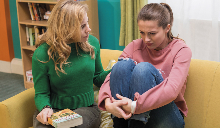 Lauren McQueen played Lilly Drinkwell in Hollyoaks (Credit: Channel 4)