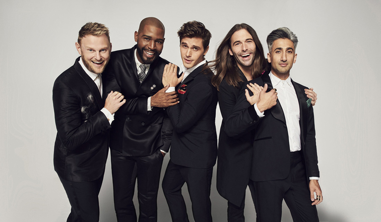 Queer Eye, which ITV produces for Netflix (credit: Netflix)