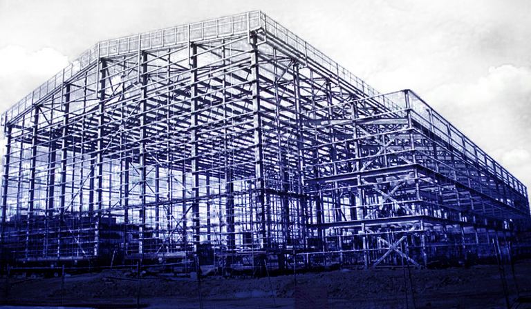 New stages under construction at Elstree (Credit: Elstree)