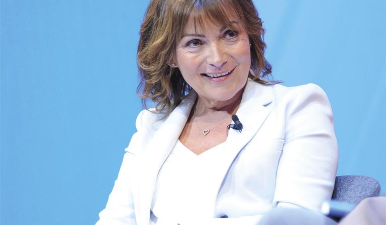 Lorraine Kelly (Credit: RTS/ Richard Kendal)