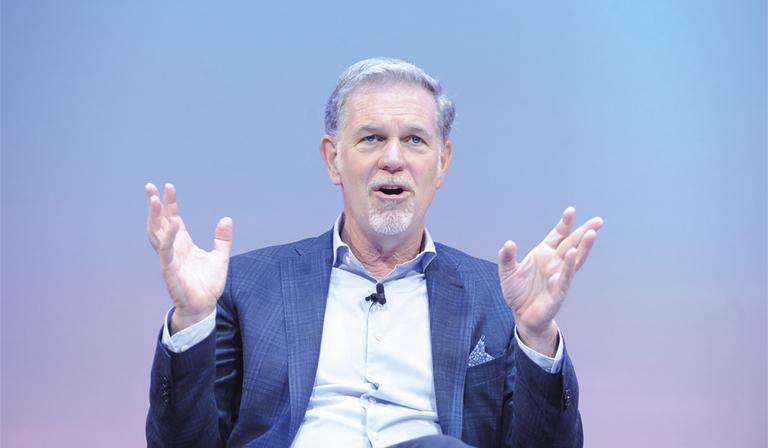 Reed Hastings (Credit: RTS/ Richard Kendal)