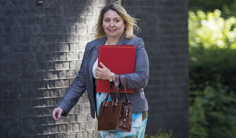 Culture Secretary Karen Bradley (Credit: Getty Images)