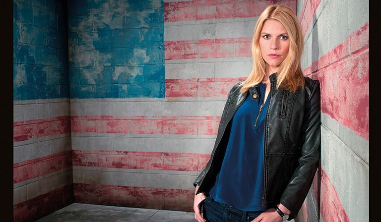 Claire Danes as Carrie Mathieson in Homeland