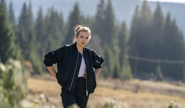 Jodie Comer in Killing Eve (Credit: BBC)