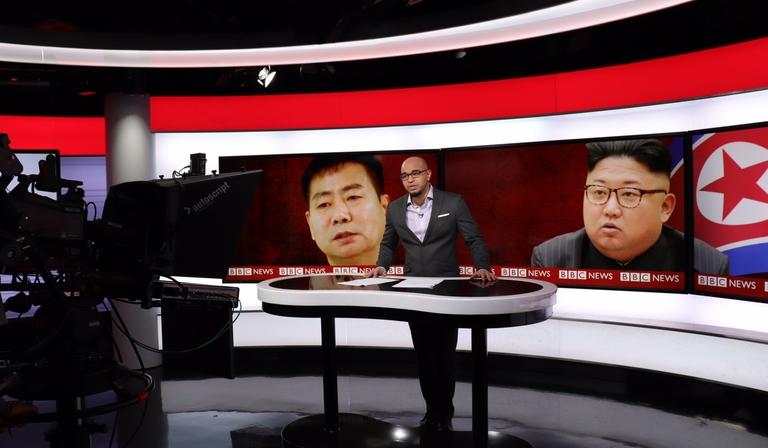 World Service TV studio