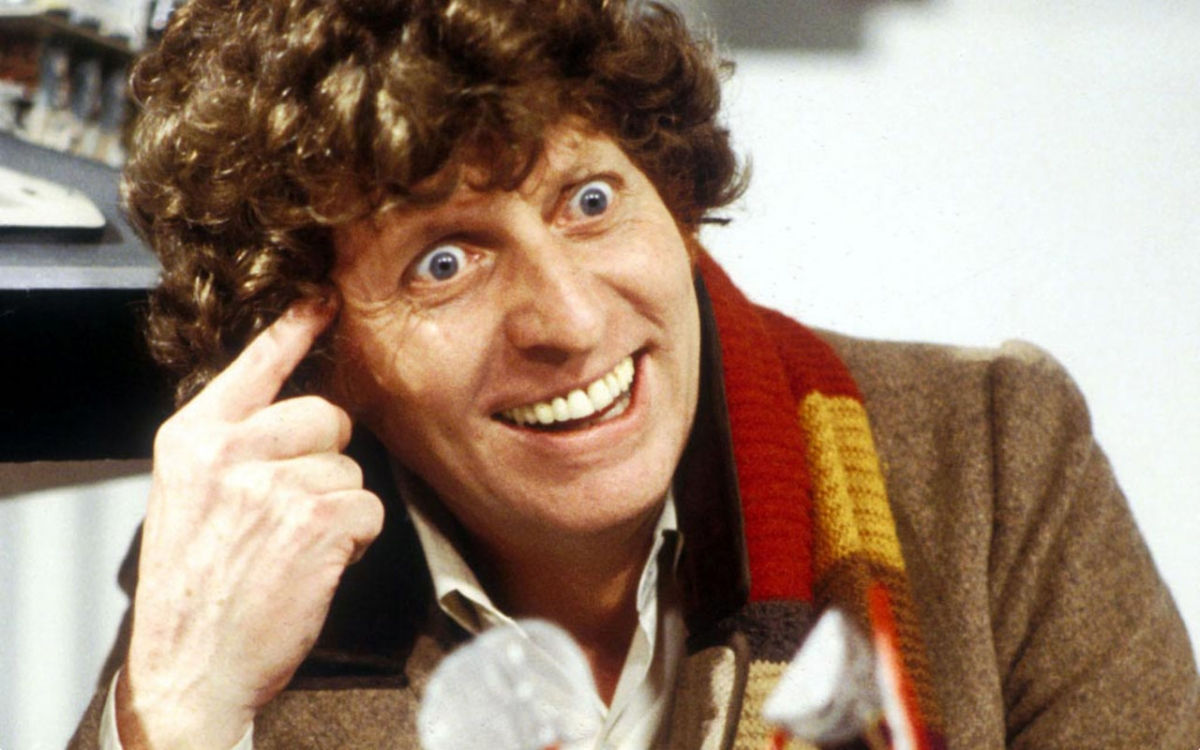 Tom Baker as the fourth Doctor. Credit: TNS Sofres